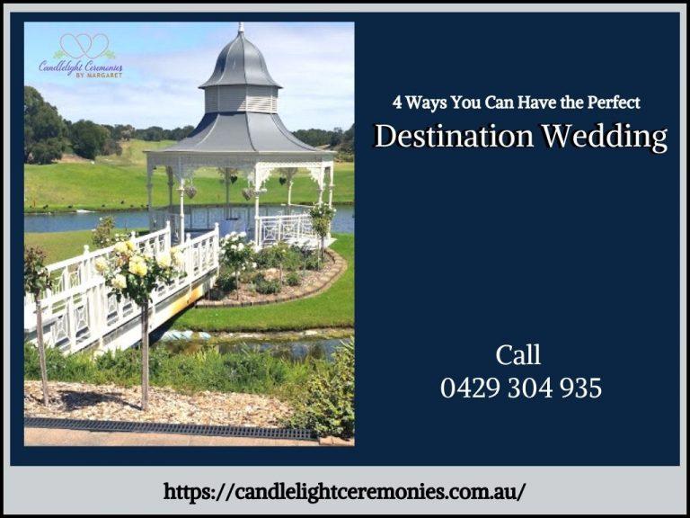 Destination Wedding Celebrant Melbourne